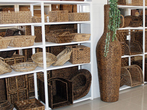 Storage and basket